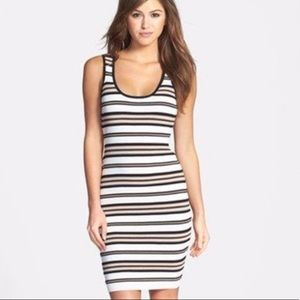 Felicity and coco fitted stripe dress